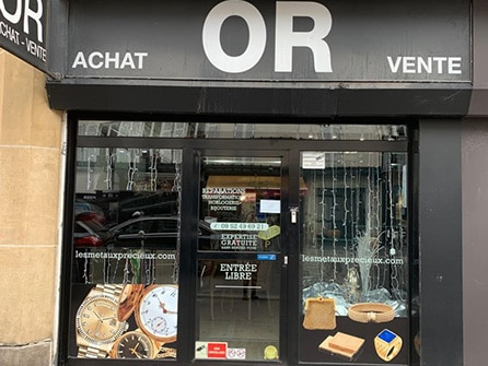 Rachat d'or LMP Paris 15 Rue Lecourbe